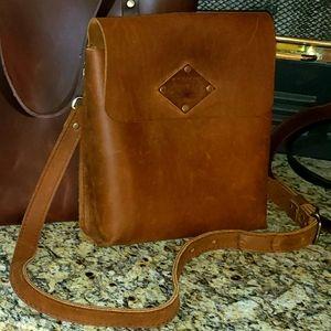 Portland Leather Goods *Retired* Satchel in Honey